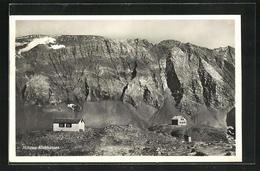 AK Muttsee-Klubhütten Gegen Das Gebirge - Switzerland