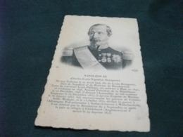 PICCOLO FORMATO NAPOLEON III CHARLES LOUIS NAPOLEON BONAPARTE - Hommes Politiques & Militaires