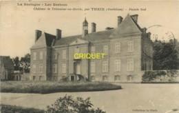 56 Theix, Chateau De Trémonar En Berric, Façade Sud, Visuel Pas Très Courant, 1924 - Altri Comuni