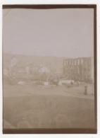 ° SAINT PIERRE & MIQUELON ° Ruines De L'église Et Du Palais De Justice ° PHOTO Prise Par Le Docteur ALLIOT ° - Saint-Pierre-et-Miquelon