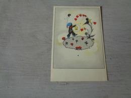 Carte ( 239 ) Fantaisie  Fantasie - Thème Champignon  Champignons   Paddestoel  Paddestoelen - Champignons