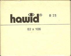 HAWID - Blocs 82x106 Fond Noir - Bandes Cristal