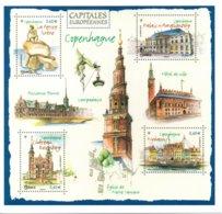Capitales Europeenes  Copenhague Carte Pretimbré - Biglietto Postale