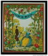 étiquette De Vin - Ou Boissons - Dessin Du XIX Eme - Creme De Menthe - Labels