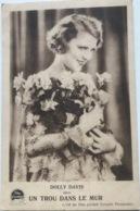 (1297) Dolly Davis  - Un Trou Dan Le Mur - Ciné Palace - 1930 - Film Parlant Ferançais Paramount - Publicité