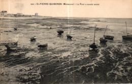 ST PIERRE QUIBERON -56- LE PORT A MAREE BASSE - Quiberon