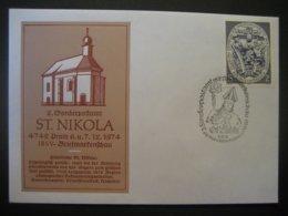 Österreich- St. Nikola/Pram 6.12.1974 Vom 2. Sonderpostamt - 1971-80 Cartas