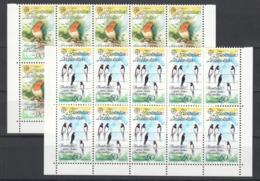 SS807 1986 LIECHTENSTEIN FAUNA BIRDS EUROPA CEPT 10SET MNH - 1986