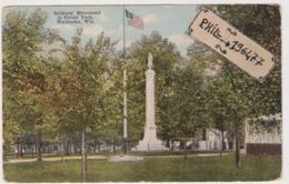 Waukesha - Cpa / Soldiers' Monument In Cutler Park. - Waukesha