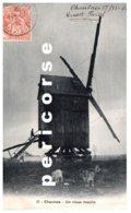 80  Chaulnes  Un Vieux Moulin - Chaulnes