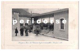 52  Langres  Gare Du Chemin De Fer Centre Ville - Langres