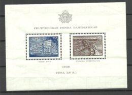 Lettland Latvia 1938 Michel Block 1 MNH - Latvia
