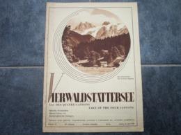 VIERWALDSTÄTTERSEE - Journal Des Etrangers - N°13 (20 Pages) - Toerisme