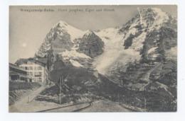 Berne -- Wengernalp Bahn -hotel Jungfrau ,eiger Und Monch --RECTO/VERSO - B73 - BE Berne