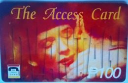 P T And T  Access Card - Filippine