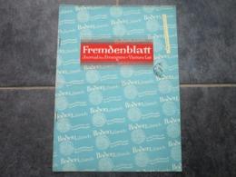 FREMDENBLATT - Journal Des Etrangers - N°14 (14 Pages) - Toerisme
