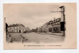 - CPA SAINT-CYR-L'ECOLE (78) - La Route De Versailles - Edition BOURDIER N° 67 - - St. Cyr L'Ecole