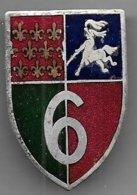 6e Régiment De Dragons - Insigne émaillé Drago Paris - Army