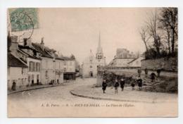 - CPA JOUY-EN-JOSAS (78) - La Place De L'Église 1906 (avec Personnages) - Edition A. D. N° 9 - - Jouy En Josas