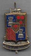 37e Régiment Infanterie  - Insigne émaillé H674 - Army
