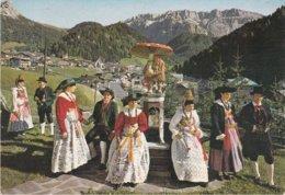 SELVA DI VAL GARDENA - BOLZANO - FONTANA FATTA A GNOMO CON FUNGO / FUNGHI / MUSHROOM / CHAMPIGNON - COSTUMI - 1981 - Bolzano (Bozen)