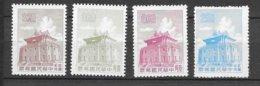 Formose Taiwan   N° 339; 340 ; 345 Et 347  émis Neufs (*)  B/ TB    Soldé ! ! !     Le Moins Cher Du Site ! ! ! - 1945-... Republic Of China