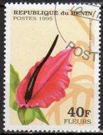 Bénin Yvert N° 708AU Oblitéré Fleurs Lot 13-89 - Benin – Dahomey (1960-...)