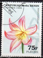 Bénin Yvert N° 708AW Oblitéré Fleurs Lot 13-90 - Benin – Dahomey (1960-...)