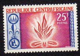 République Centrafricaine Yvert N° 58 Neuf Avec Charnière Scoutisme Lot 13-160 - Centrafricaine (République)
