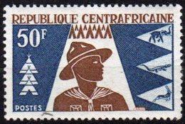 République Centrafricaine Yvert N° 59 Neuf Avec Charnière Scoutisme Lot 13-161 - Centrafricaine (République)