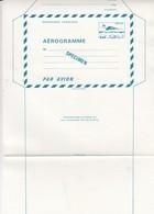 FRANCE - AEROGRAMME  SPECIMEN BLEU CONCORDE 1.60  / TBS - Entiers Postaux