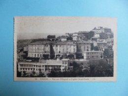 THIERS  -  63  -  Vue Sur L'hôpital Et L'Eglise Saint Genès  -  Puy De Dôme - Thiers
