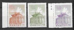 Formose Taiwan   N° 408   à  410 Pagode     émis Neufs (*)  B/ TB    Soldé ! ! !     Le Moins Cher Du Site ! ! ! - Buddhism