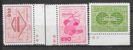 Formose Taiwan   N° 416  à  418     émis Neufs (*)  B/ TB    Soldé ! ! !     Le Moins Cher Du Site ! ! ! - 1945-... République De Chine