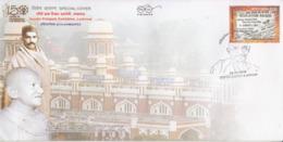 India 2019  Mahatma Gandhi  Ahimsapex  Lucknow  Special Cover # 23174 D  D Inde  Indien - Mahatma Gandhi