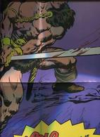 Conan El Barbaro, Poster Promocion Entregado Con El Numero 1 - Livres, BD, Revues