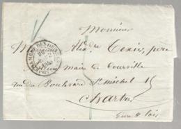 23196 - CHAMBRE DES DEPUTES - Poststempel (Briefe)