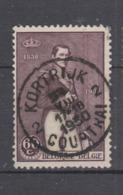 COB 302 Oblitération Centrale KORTRIJK 2 - Used Stamps