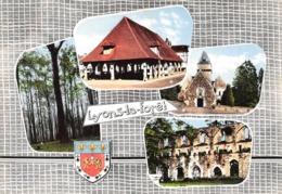 LYONS-la-FORET - Gros Chêne - Halle - Eglise - Ruines De L'Abbaye De Mortemer - Blason Robert Louis - Lyons-la-Forêt