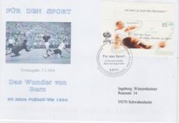 Germany 2004 FDC Die Wunder Von Bern FIFA World Cup - Germany Winners (G103-18) - Coupe Du Monde