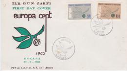 Turkey FDC 1965 Europa CEPT   (G103-19) - Europa-CEPT