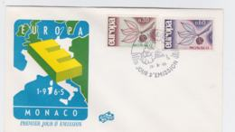 Monaco  FDC 1965 Europa CEPT   (G103-19) - Europa-CEPT