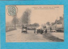 Circuit De La Sarthe, 1906. - Sortie Du Contournement D'Ardenay. - Frankrijk