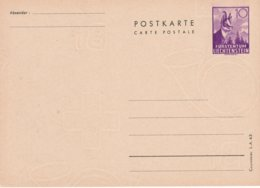 LIECHTENSTEIN    ENTIER POSTAL/GANZSACHE/POSTAL STATIONERY CARTE - Enteros Postales