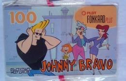 PLDT Johnny Bravo Mint 100 Pesos - Filippine