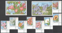 Y527 1993 LESOTHO FLORA FLOWERS #1028-35 !!! MICHEL 38 EURO 1SET+2BL MNH - Other