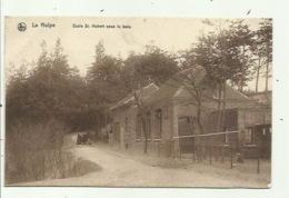 La Hulpe - Ecole St-Hubert Sous Le Bois (Duitse Postzegel 1918) 2 Scans - La Hulpe