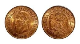 Napoléon III 1 Centime 1861 A (Paris) - Francia