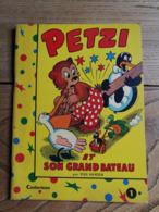 1958 - PETZI Et Son Grand Bateau / Casterman - Books, Magazines, Comics