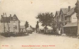 CPA 45 Loiret Beaune-la-Rolande Route De Pithiviers Caisse D'Epargne - Beaune-la-Rolande